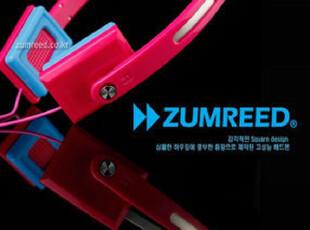 zumreed zhp-008方形个性 头戴耳机 多彩耳机,数码周边,