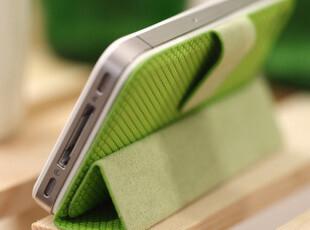 Smart cover 苹果4s手机壳 正品 iphone4s手机壳 4s外壳 折叠皮套,数码周边,