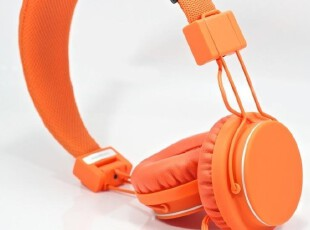 瑞典原装Urbanears Plattan时尚耳机 橙色 可接手机通话 小米手机,数码周边,