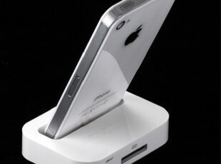 秒杀特价!苹果4代 iPhone 4配件 DOCK 充电底座 基座 座充 支架,数码周边,