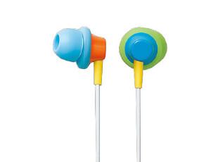 elecom 宜丽客 正品 EHP-IN30 3X4幻彩耳機 MP3 MP4 音乐耳机,数码周边,