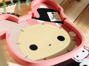日本SAN-X ● 忧伤马戏团 防滑垫 按扣式绕线器 夹子式绕线器,数码周边,