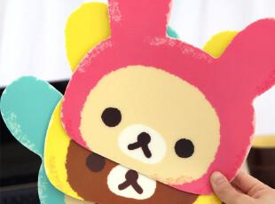[特]安安家★韩版 时尚可爱创意 轻松熊PVC防滑 鼠标垫 O315,数码周边,