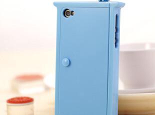 新款 哆啦a梦 苹果 iphone4/4s 任意门手机壳 支架镜子多功能外壳,数码周边,
