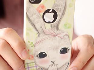 懒角落★韩版 可爱卡通 磨砂 苹果iphone4/4s手机壳 保护套 33472,数码周边,