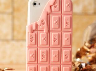 日本 iPhone4外壳 苹果4S手机壳 硅胶套 融化巧克力 手机套 配件,数码周边,