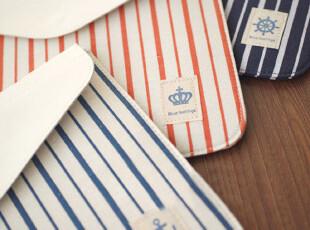 海军风~天然棉麻 iPad包 保护包 保护套 3色选,数码周边,