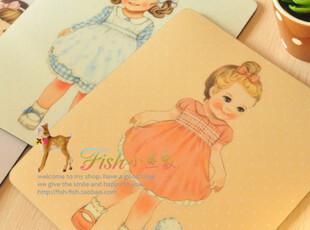 韩国文具 韩版可爱 创意防滑保暖 卡通洋娃娃鼠标垫定制79包邮,数码周边,