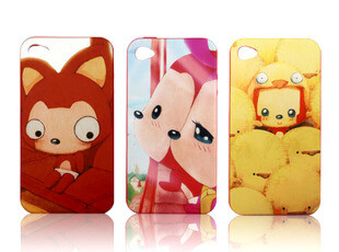 正版 阿狸 Iphone4 4S 套 硅胶苹果外壳保护壳手机壳,数码周边,
