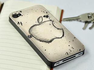 新款超薄iphone4s手机壳潮 苹果保护壳套 彩绘iphone4手机壳外壳,数码周边,