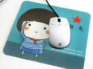 懒角落★日韩国文具韩版 可爱卡通 褪去的时光 防滑鼠标垫 24148,数码周边,
