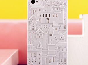 镂空复古城堡 iPhone4 手机套 iPhone4s 手机壳 保护套 苹果 配件,数码周边,