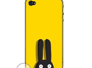 三少正品苹果4代iphone4s手机壳4s保护壳套秒杀/包邮/可爱兔耳朵,数码周边,
