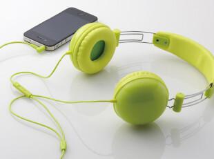 正品日本ELECOM EHP 头戴式 彩色 耳机 带麦 线控 iPhone,数码周边,