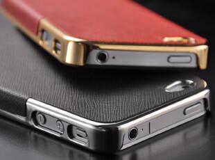 Ripher iphone4s手机壳 苹果4手机壳 iphone4手机壳 新款 皮质 潮,数码周边,