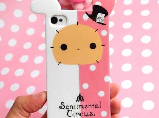 新款卡通兔 iphone4手机壳 立体苹果4s手机壳 iphone4s手机壳硅胶,数码周边,
