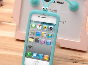 凡亚比iphone4手机壳iphone4s手机壳蝈蝈手机套苹果4外壳硅胶,数码周边,