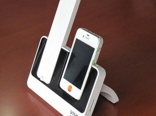 美国VIVA原装正品 苹果iphone4/4S 无线手机话筒+底座抗辐射电话,数码周边,
