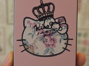 复古玫瑰花 kitty 我是女王  iphone4/4S 手机保护壳 外壳 仿刮花,数码周边,
