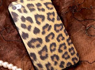韩版正品苹果iPhone4s手机壳豹纹蛇皮浮雕iPhone4手机套保护套壳,数码周边,