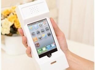 大哥大80年代复古创意听筒手机壳苹果iPhone 4 4S保护套保护外壳,数码周边,