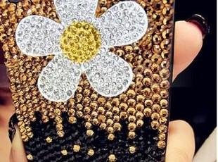 全钻小雏菊iphone4 4s n9 三星 9100贴钻苹果外壳手机壳手机,数码周边,