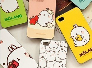 韩国 土豆兔 iPhone4 4S手机壳 超薄可爱兔子猪外壳 苹果4手机套,数码周边,