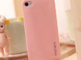 韩国超裸机手感糖果色iphone4 4S背壳 超薄果冻色手机壳保护背贴,数码周边,