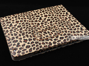 正品优爪 苹果iPad2/3平板电脑保护套/保护壳 明星金钱豹纹系列,数码周边,