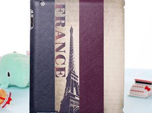 原装正品 英伦风法国国旗ipad2 3超薄皮套 保护套 smartcover休眠,数码周边,