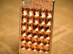 施华洛钻 苹果iphone4 4s水钻手机壳 抓链水钻保护壳满钻手机外壳,数码周边,