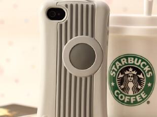 iPhone4 4s 聪明豆硅胶保护套 变形金刚运动风外壳 苹果4手机壳,数码周边,
