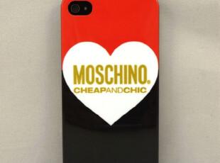 莫斯奇诺 Moschino 苹果4代壳子 iPhone4手机壳 iphone4s手机壳,数码周边,