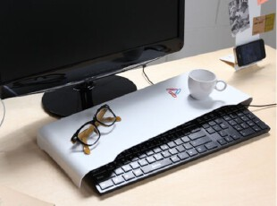 代购 韩国直送 桌面收纳架 /电脑键盘收纳架/桌面整理/ 2色可选,数码周边,