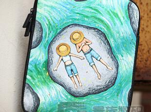卡通 ipad3保护套 ipad2代漫画内胆包 苹果ipad电脑保护套 配件,数码周边,