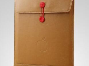 苹果 mac iPad2 牛皮纸文件袋 信封袋 皮套 内胆包 ipad3 保护套,数码周边,