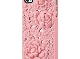 SwitchEasy iPhone4/4S 外殼 手機套 保護套 Blossom 玫瑰浮雕,数码周边,