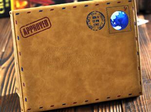 包邮 new iPad2 iPad3保护套 时尚复古 支架式内胆包 休眠皮套,数码周边,