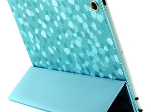 New ipad3/2 保护套 超薄 钻石纹保护壳 时尚 休眠皮套 苹果配件,数码周边,