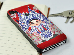 手机工坊 苹果 iphone4 4S保护壳 手机套 国粹脸谱4 14-A22322,数码周边,