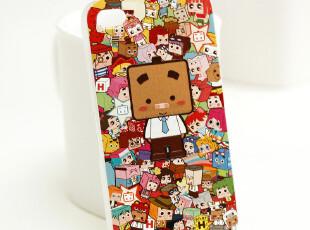 iphone4 4s张小盒盒子世界手机壳 彩雕外壳 苹果保护套 动漫涂鸦,数码周边,