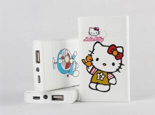 三星iphone4/4S/HTC/小米外置移动电源外卡通充电宝4200mAh大容量,数码周边,