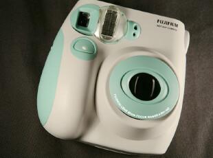 超萌薄荷色 淡绿色 mint限量版 富士 一次成像拍立得 相机 mini7s,数码周边,