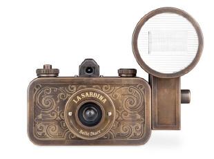 LOMO相机 La Sardina Camera & Flash - Belle Starr 135胶卷,数码周边,