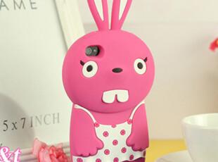 苹果4 iphone 4 4s硅胶手机保护套 韩国新款大暴牙兔子 外壳 壳子,数码周边,