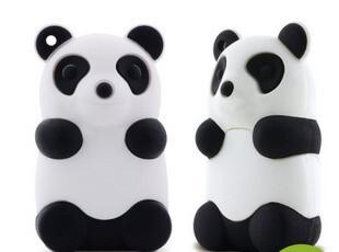 Bone原装正品 熊猫造型 U盘/优盘8G 卡通U盘 动漫U盘,数码周边,