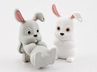 BONE 正品 生肖U盘 兔子U盘 4G 可爱兔子造型 Rabbit Driver,数码周边,