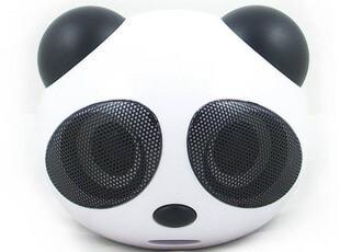 大熊猫电脑音箱 插卡小音箱低音炮带收音机 胎教mp3播放器u盘音响,数码周边,