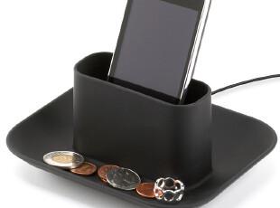 加拿大UMBRA原装进口正品 自带线槽收纳盘 手机座手机托多色入,数码周边,