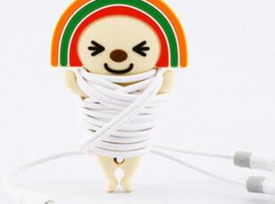 台湾BONE open小将系列 耳机卷线棒 绕线器 收纳器,数码周边,